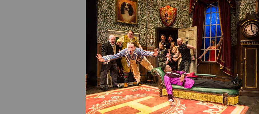 The Play That Goes Wrong, Duchess Theatre, Edinburgh