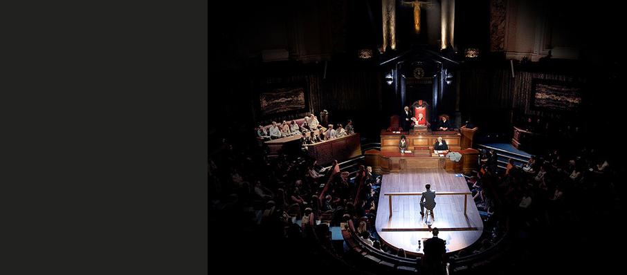 Witness for the Prosecution, London County Hall, Edinburgh