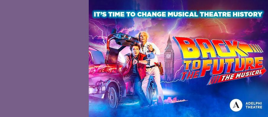 Back To The Future The Musical, Venue To Be Confirmed, Edinburgh