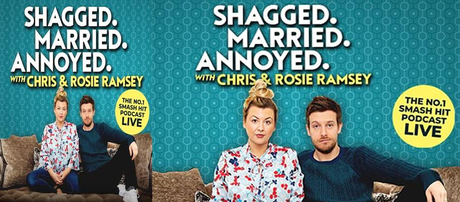 Shagged Married Annoyed with Chris and Rosie Ramsey, Adelphi Theatre, Edinburgh